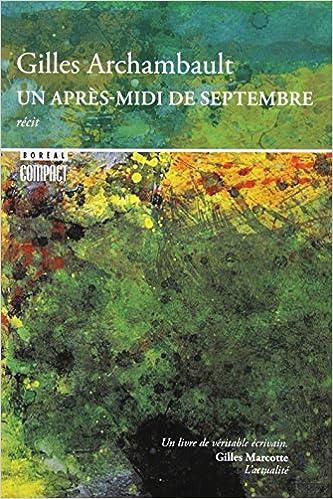 Télécharger en ligne UN APRES-MIDI DE SEPTEMBRE pdf, epub ebook