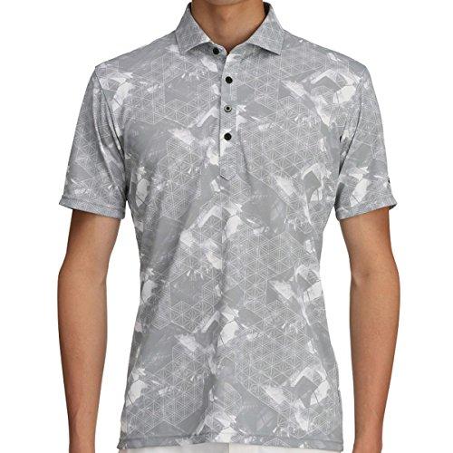 ミズノ MIZUNO 半袖シャツ?ポロシャツ ソーラーカット 半袖シャツ 52MA7012 アロイグレー 05 M