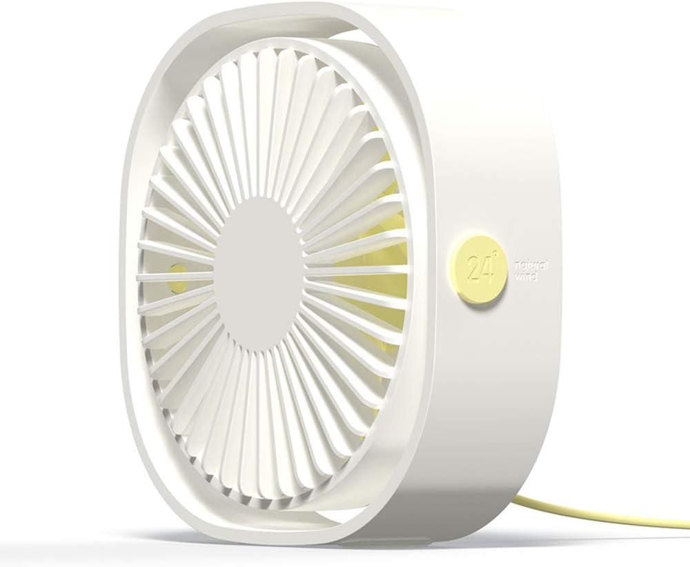 Simpeak Ventilador Mini USB Silencioso de 3 Velocidades Mini Fan ...