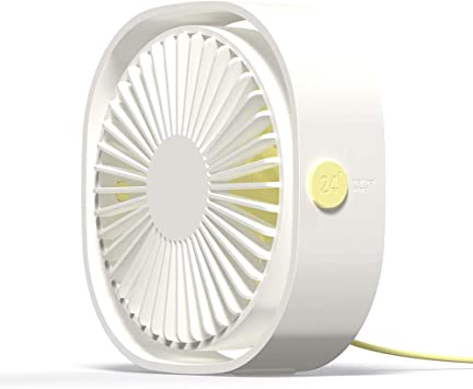 Simpeak Ventilador Mini USB Silencioso de 3 Velocidades Mini Fan ...