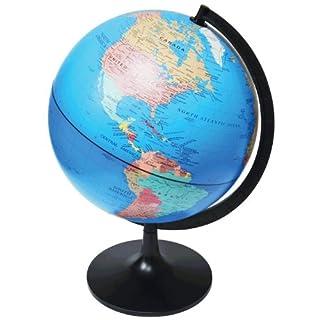 Edu-Toys EDU36899A Desktop Political Globe, 11-Inch