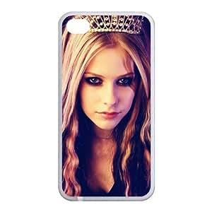 Custom Avril Back Case for iphone4,4S JN4S-157