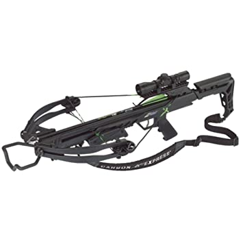 Carbon Express Blade X-Force Blade Crossbow Ready-to-Hunt Kit (Rope Cocker,  3 Bolt Quiver, 3 Crossbolts, Rail Lubricant, 3 Practice Points, 4x32x