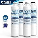Waterspecialist DA29-00020B Refrigerator Water Filter Replacement for Samsung DA29-00020B, DA29-00020A, HAF-CIN/EXP, 46-9101, 4 Pack