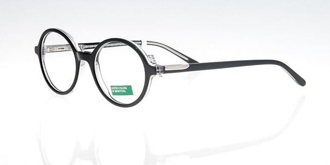 Amazon.com: anteojos Benetton BB300 Negro Ronda: Benetton ...