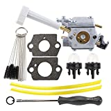 Hilom 308054079 Carburetor with Carb Adjusting Tool Clearing Tool Fuel Line for Ryobi RY08420 RY08420A Backpack Blower