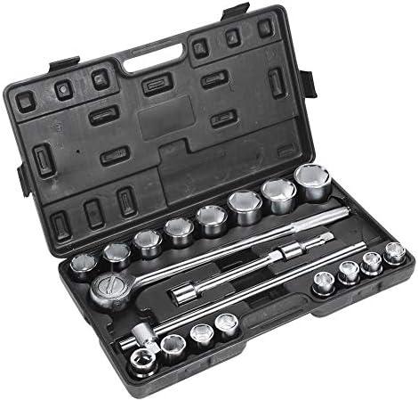 20 Stücke Steckschlüsselsatz 3/4 zoll Steckschlüssel Set Ratschenaufsatz Reparatur Installationswerkzeuge für auto, haus, maschine reparatur, auto reparatur,19-50mm