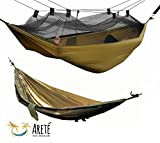 Mosquito Net Hammock by Arete Travel & Leisure – Relaxing, Portable, Comfortable, Camping & Outdoor Fun. Hammocks Include Carabiners, Rope, Guy Lines. Ultralight, Strong, & Easy with Free Instructional Videos. Start Your Next Adventure Today!