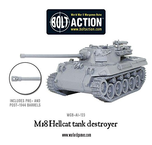 Hellcat Tank - M18 Hellcat - Bolt Action Tank