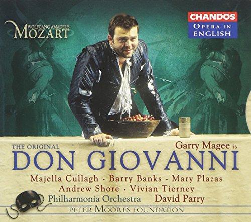 Mozart - Don Giovanni / Garry Magee · Cullagh · Banks · Plazas · Shore · Tierny · PO · David - Plaza Shore