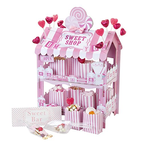 Talking Tables Candy Stand Sweet Shop Party Décor | Great For Kids Party, Birthday Party And Summer Décor | Paper