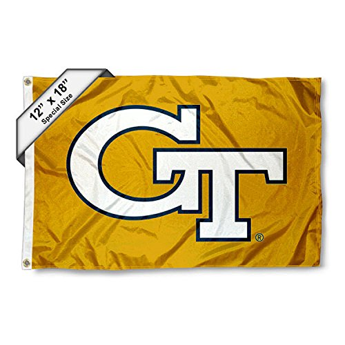 Georgia Tech Golf Cart and Boat Flag