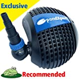 Pondpush 17000 Garden Pond Pump for pond filters & waterfalls