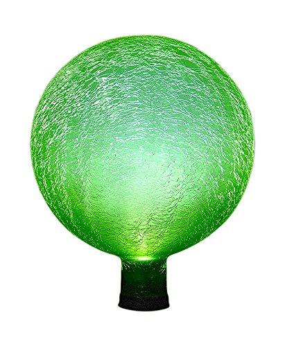 Achla Designs Celestial Orb Solar 10-Inch Gazing Globe Ball, Fern Green
