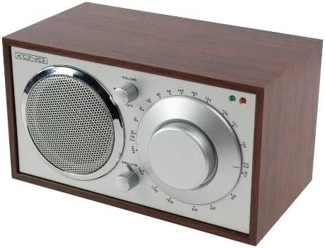 König HAV-TR10 - Radio de mesa retro de madera FM/AM: Amazon.es ...