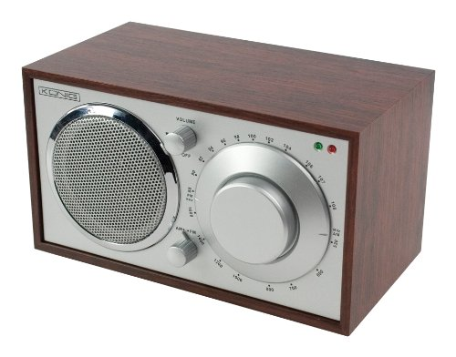 König HAV-TR10 Retro Radio Tragbares Radio (UKW-/MW-Tuner, 200 mW, RMS) braun