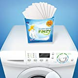 Finzy Laundry Soap Sheets, Washer Sheets for Travel Laundry, 32 loads, Portable Individual Packages, More Efficient and Convenient than Liquid, Pods, or Pacs - Travel & Eco Friendly
