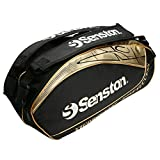Senston Tennis/Badminton Rackets Bag Equipment Bag (Holds 8 Racquets) - Black/Red/Blue
