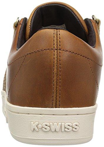 K-SWISS Sneakers cuero auténtico Hombre coñac