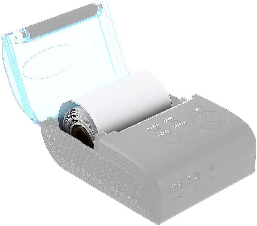 Rouleaux de papier de toilette 10 PCS 58mm 57mmx30mm 0.03mm-0.08mm d/épaisseur du papier thermique.