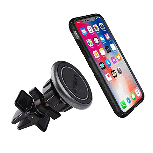 Car Phone Mount, Kuelor Magnetic Universal Air Vent Cell Phone Holder for All iPhone, Samsung Galaxy, Google Pixel, LG, HTC and More