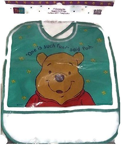 Winnie the Pooh 1st Birthday Bib