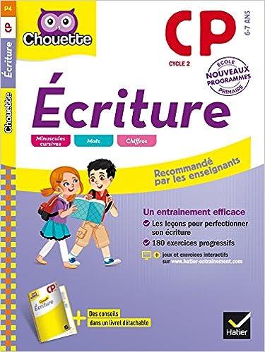 Ecriture CP - Nouveau programme 2016 epub pdf