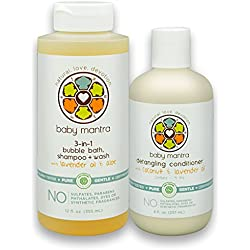 Baby Shower Gift Sets | Baby Mantra Toddler Basics Kit | EWG Verified Products | Allergy Tested | Great for Sensitive Skin Care