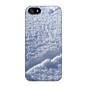 Awesome Heart In The Snow Flip Case With Fashion Design For Iphone 5/5s