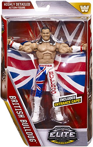 WWE Elite Figure, British Bulldog