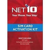 Net10 SIM Card Activation Kit