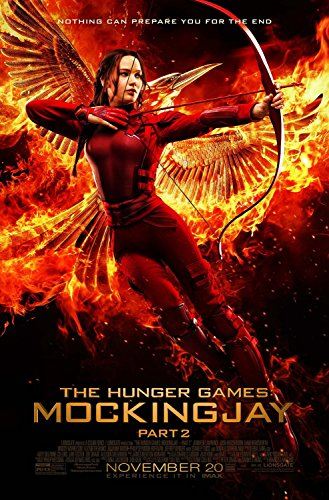 """The Hunger Games: Mockingjay Part 2 FINAL 27"""" X 40"""" Movie Poster - Katniss"""