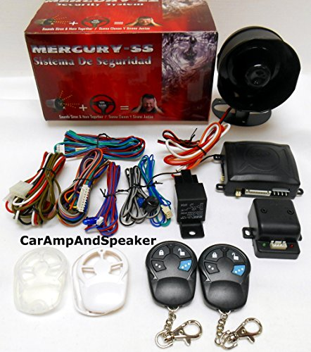 Mercury-Ss Full Feature Car Alarm W Keyless Entry Basic Info