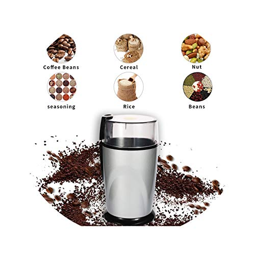 Mini Stainless Steel Blade Coffee Spice Nuts Grains Bean Grinding Multifunctional Electric coffee grinder,EU