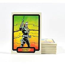 1987 Hasbro / Comic Images G.I. GI Joe Complete Trading Card Set (55 Cards)