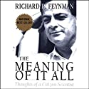 The Meaning of it All: Thoughts of a Citizen-Scientist Audiobook by Richard Feynman Narrated by Raymond Todd