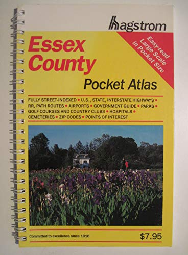 Hagstrom Essex County, New Jesrsey Pocket Atlas