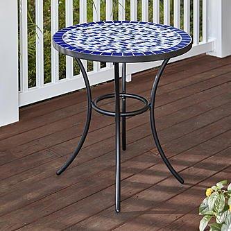 eg essential garden clarksville mosaic bistro patio table - Bistro Patio Set