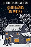 Book Cover for Geheimnis in Weiß: Kriminalroman (German Edition)