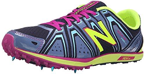 New Balance Womens WXC700 Spike Runnng Shoe, Azul/Prpura, 36 EU/3.5 UK