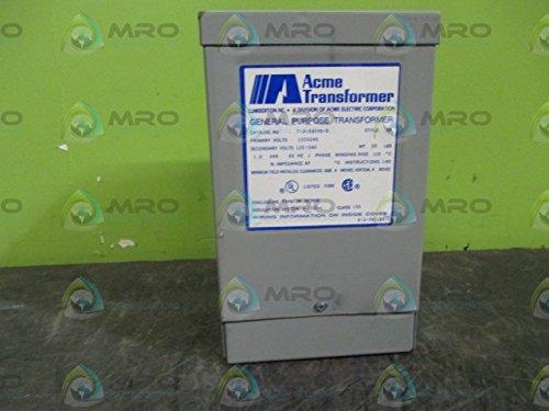 ACME Electric, T-3-53040-S General Purpose Transformer, Style SE