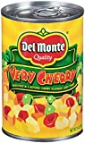 Del Monte Canned Very Cherry Mixed Fruit in Natural Cherry Flavored Light Syrup, 15-Ounce