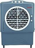 Honeywell 1062 CFM Indoor/Outdoor Evaporative Air Cooler (Swamp Cooler) with Mechanical Controls in Gray