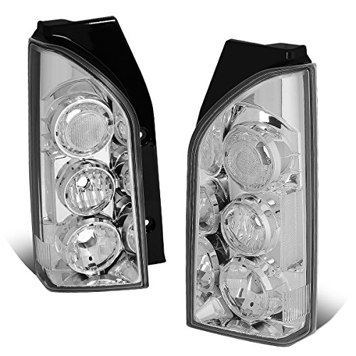 For 2005-2015 Nissan Xterra Pair Chrome Housing Altezza Style Tail Light Brake Parking Lamps - Nissan Xterra Tail Lamp