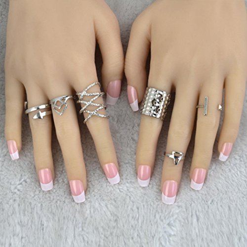 6pcs Knuckle Rings - 6