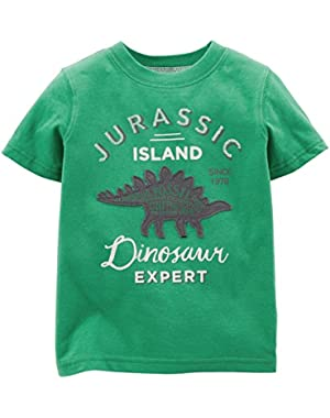 Carter's Baby Boys' Graphic Tee (Baby) - Dino Expert