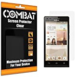 Clear Combat Screen Protectors for Huawei Ascend P7 Mini