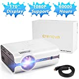 Best iPhone Projectors - Crenova Upgraded (+80% Lumens) LED Portable Projector Review