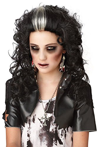 Rocked Out Zombie Halloween Costume (Rocked Out Zombie Wig)