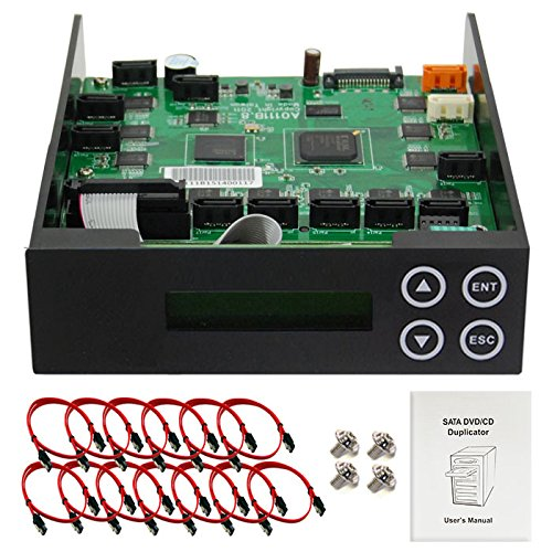 - 1-11 Blu-ray CD/ DVD/ BD SATA Duplicator Copier CONTROLLER + Cables Screws & Manual Optical Drive